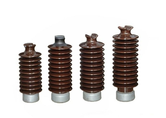 12KV High Voltage Electrical Ceramic Insulators Safe With High Efficiency
